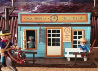 telegrafo playmobil oeste