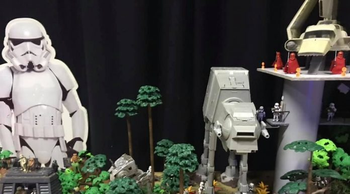 diorama star wars