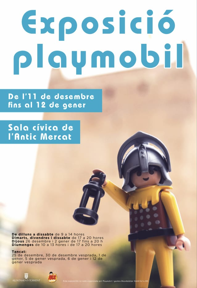 Exposición Playmobil Torrent 2019 2020 Valencia Horarios Y Dioramas