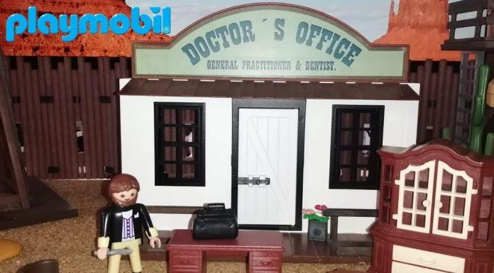 playmobil oeste doctor personalizado
