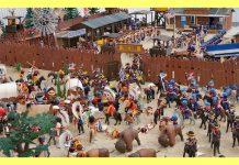 playmobil oeste diorama