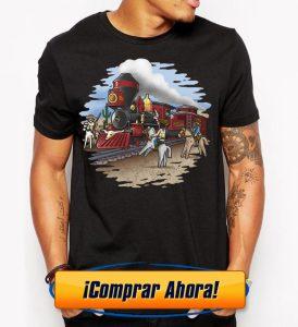 camiseta playmobil tren