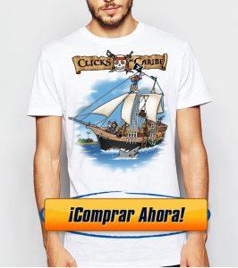 playmobil barco camiseta