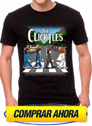 comprar camiseta playmobil beathles clicktles