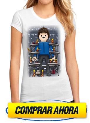 comprar camiseta playmobil click factory