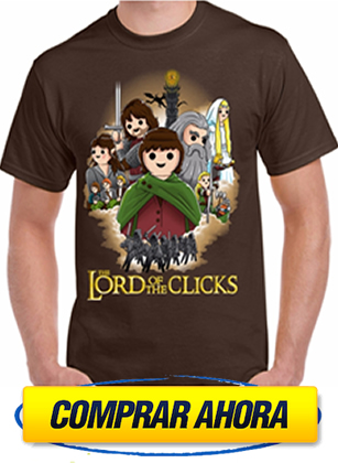 comprar camiseta playmobil the-lord-of-the-clicks