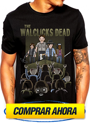comprar camiseta playmobil walking dead