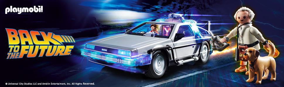 playmobil comprar regreso al futuro