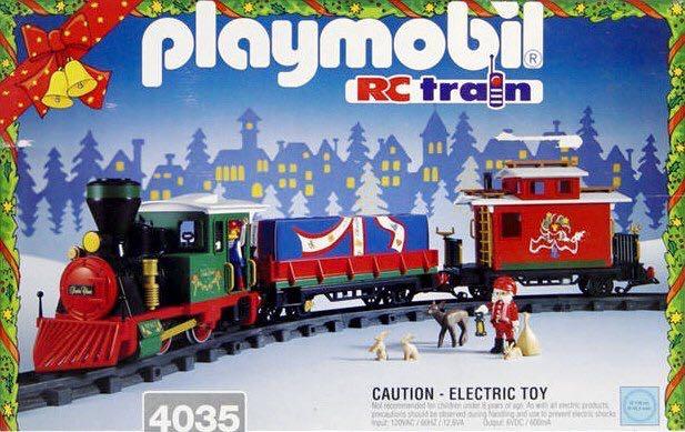 playmobil tren navidad 4035