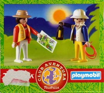 telepizza promocional playmobil