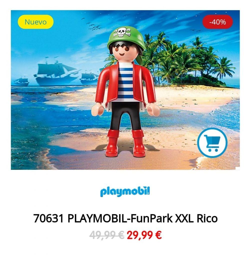 playmobil pirata xxl funkpark comprar