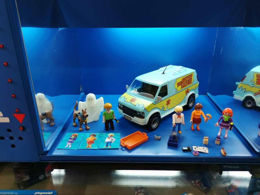 playmobil sccoby Doo time machine 70286
