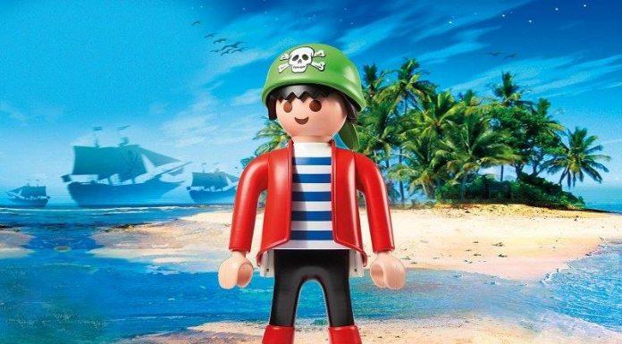playmobil xxl pirata nuevo comprar