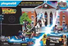 playmobil regreso al futuro adviento calendar