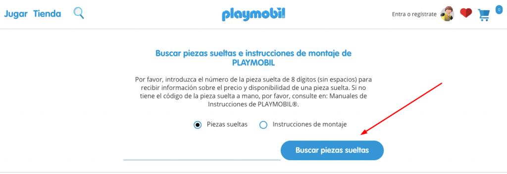 playmobil venta directa ds