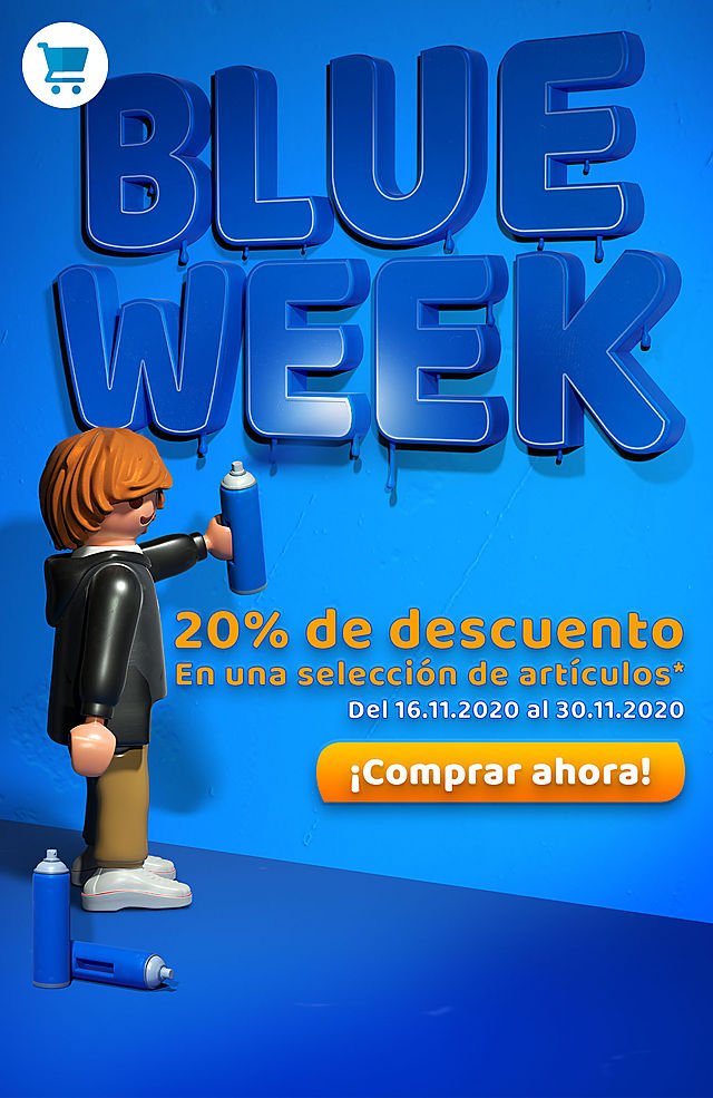 blue week blackfridat playmobil