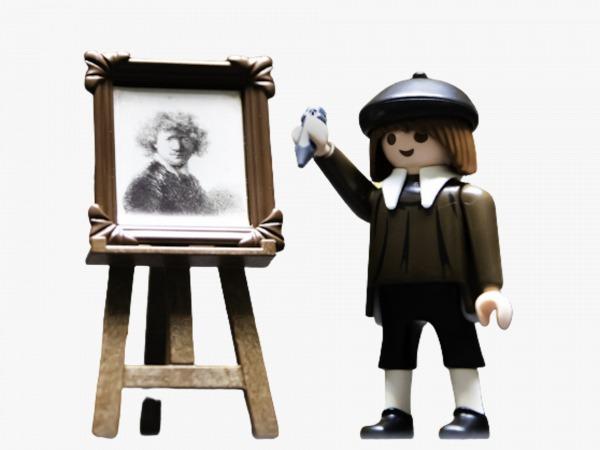 playmobil rembrant