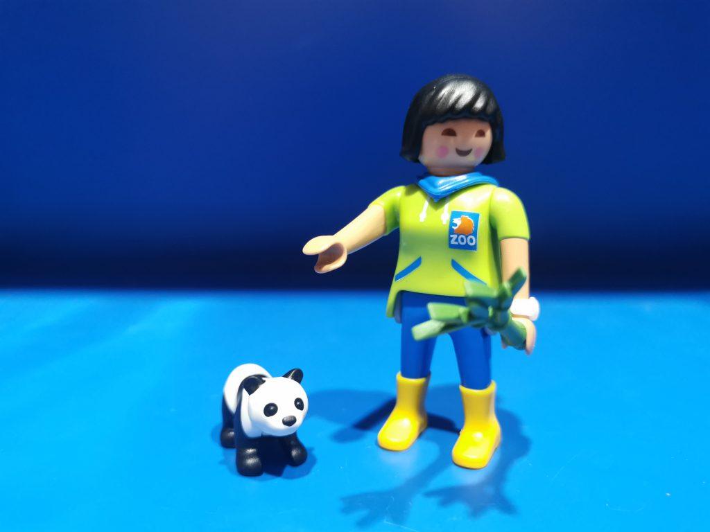 serie 19 cuidadora panda