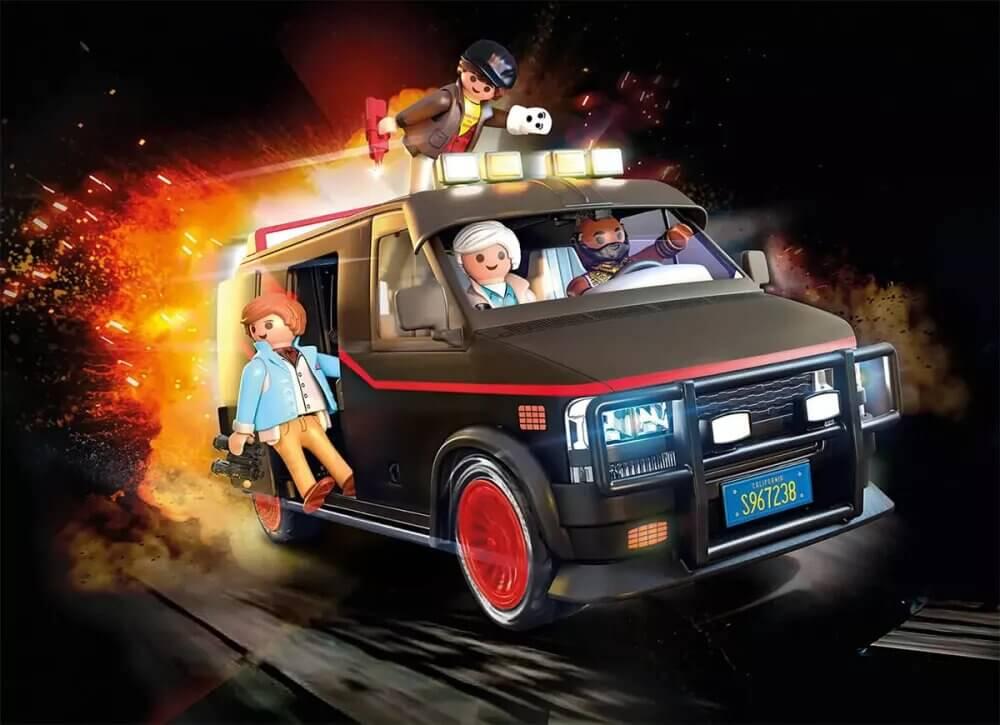 equipo a playmobil nueva furgoneta 1