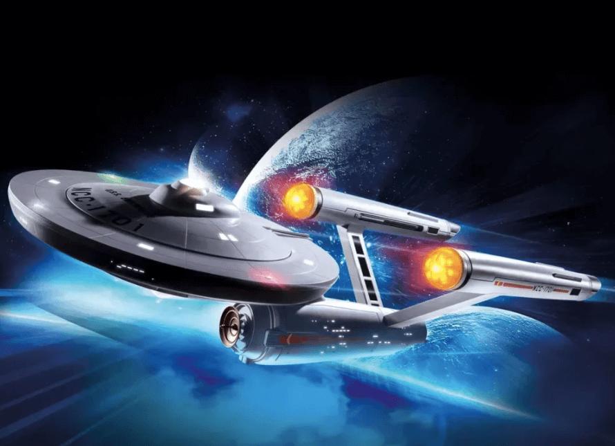 startrek playmobil 2022 nave