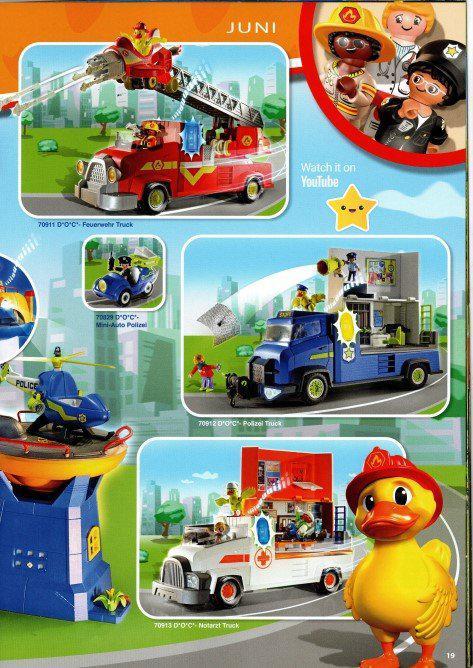 bomberos playmobil 2022