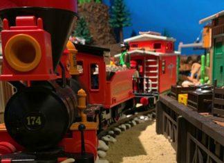playmobil oeste trenes